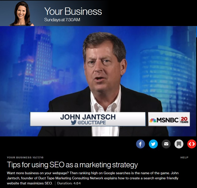 Talking SEO for Growth with MSNBC