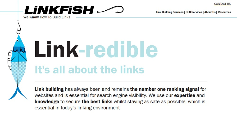LinkFish Media backlink building packages