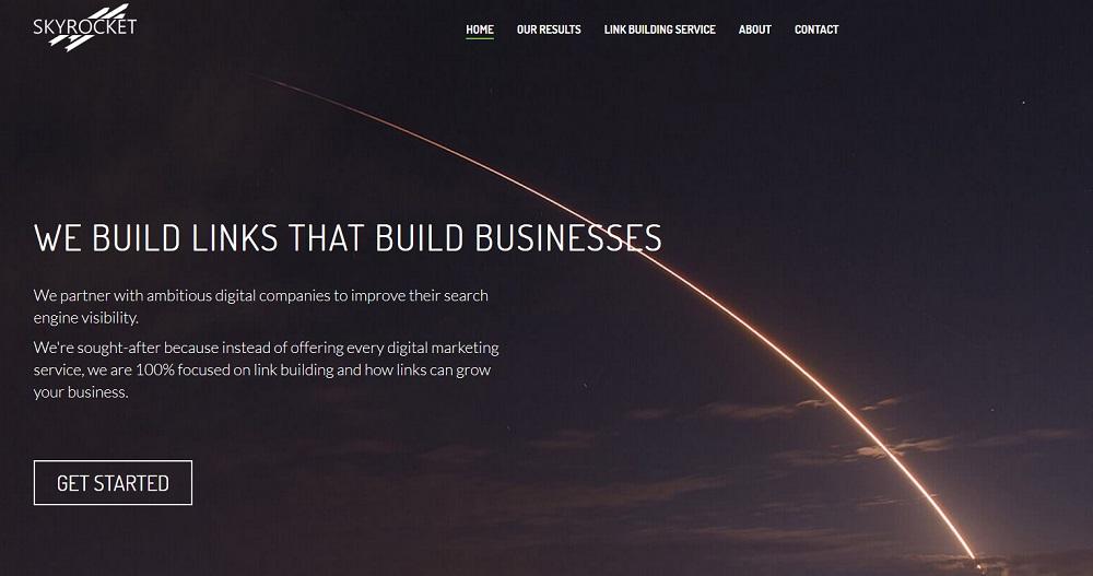 Skyrocket Digital link buidling services