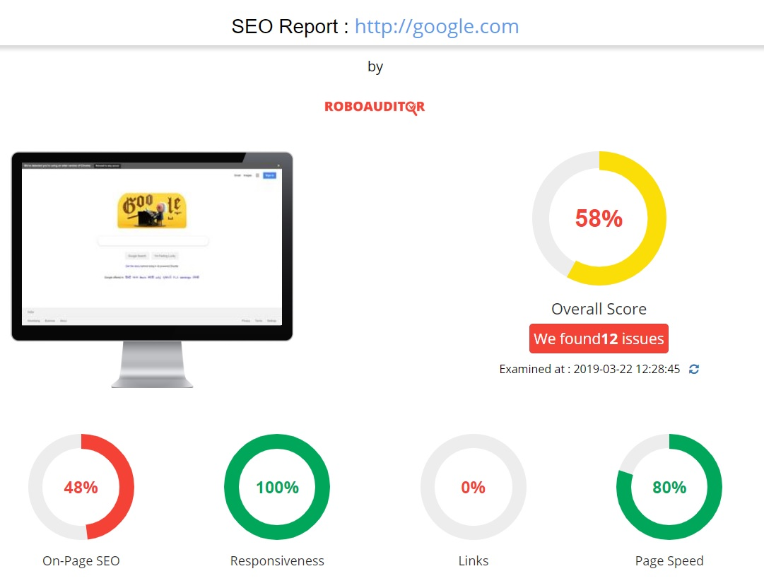 growth robotics seo report