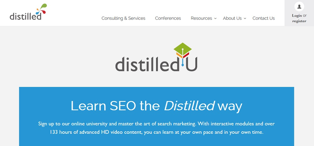 distilled seo course review