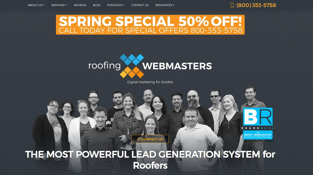 roofing webmasters reviews