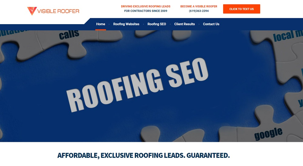 visible roofer reviews